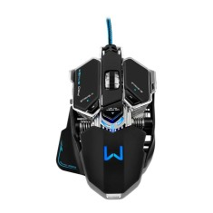 Foto Mouse Óptico Gamer USB Warrior MO246 - Multilaser
