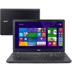 "Foto Notebook Acer E5-571-598P Intel Core i5 5200U 15,6"" 6GB HD 1 TB"