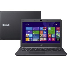 "Foto Notebook Acer ES1-411-P5M3 Intel Pentium N3540 14"" 4GB HD 500 GB"