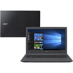 "Foto Notebook Acer E5-574-73SL Intel Core i3 6100U 15,6"" 8GB HD 1 TB 6ª Geração"