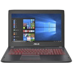 "Foto Notebook Asus FX 502 VM Intel Core i7 7700HQ 15,6"" 24GB HD 1 TB GeForce GTX 1060 Híbrido"