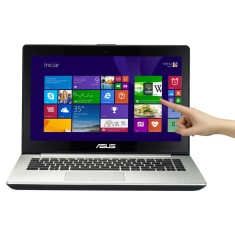 "Foto Notebook Asus S451LA-CA046H Intel Core i5 4200U 14"" 8GB HD 500 GB Touchscreen"