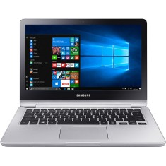 "Foto Notebook Samsung NP740U3M-KD1BR Intel Core i3 7100U 13,3"" 4GB HD 500 GB Touchscreen Windows 10"