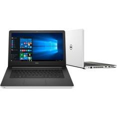 "Foto Notebook Dell I14-5458-B40 home Intel Core i5 5200U 14"" 8GB HD 1 TB GeForce 920M"