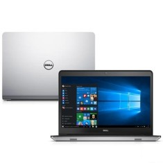 "Foto Notebook Dell i14 5448-C25 Intel Core i7 5500U 14"" 8GB HD 1 TB Radeon R7 M265 Híbrido"
