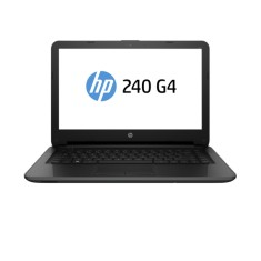 "Foto Notebook HP 240 G4 Intel Core i3 5005U 14"" 4GB HD 500 GB 5ª Geração Windows 7 Professional"