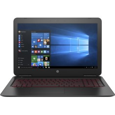 "Foto Notebook HP Omen 15 Intel Core i7 7700HQ 15,6"" 32GB HD 1 TB GeForce GTX 1050 Ti Híbrido"