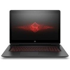 "Foto Notebook HP Omen 17 Intel Core i7 7700HQ 17,3"" 16GB HD 1 TB GeForce GTX 1050 Ti Híbrido SSD 120 GB"