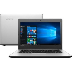 "Foto Notebook Lenovo 310 Intel Core i3 6100U 14"" 4GB HD 1 TB"