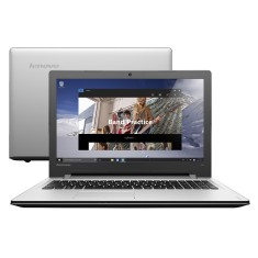 "Foto Notebook Lenovo 300 Intel Core i5 6200U 15,6"" 4GB HD 1 TB"
