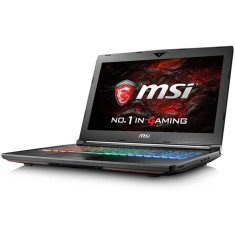 "Foto Notebook MSI GT72VR Intel Core i7 7700HQ 17,3"" 16GB HD 1 TB GeForce GTX 1060 Híbrido"