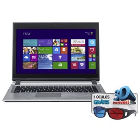 "Foto Notebook Positivo S6040 Intel Core i3 3217U 14"" 2GB HD 320 GB"
