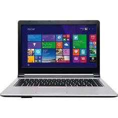 "Foto Notebook Positivo XS7320 Intel Core i3 4005U 14"" 6GB HD 750 GB"