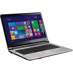 "Foto Notebook Positivo XS8320 Intel Core i5 4200U 14"" 6GB HD 750 GB"