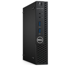 Foto PC Dell Optiplex 3040 Micro Intel Pentium G4400T 4 GB 500 Windows 10 Pro HDMI