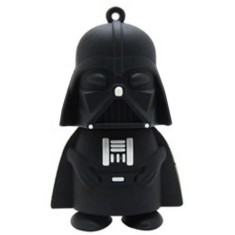 Foto Pen Drive Importado 4 GB USB 2.0 Darth Vader