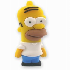 Foto Pen Drive Importado 8 GB USB 2.0 Homer Simpson