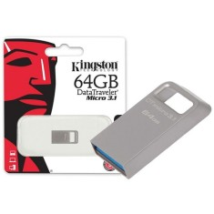 Foto Pen Drive Kingston Data Traveler Micro 64 GB USB 3.0 DTMC3