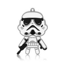 Foto Pen Drive Multilaser 8 GB USB 2.0 Stormtrooper PD039