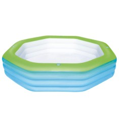 Foto Piscina Inflável 1.030 l Polígono Bestway Deluxe 54119