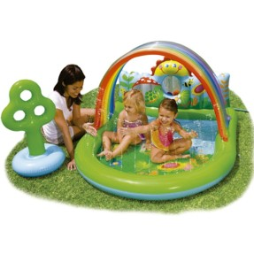 Foto Piscina Inflável 123 l Oval Intex 57421