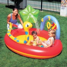 Foto Piscina Inflável 136 l Oval Bestway Play Center 53026