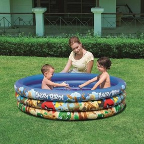 Foto Piscina Inflável 317 l Redonda Bestway Angry Birds