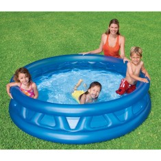 Foto Piscina Inflável 666 l Redonda Intex Soft Side 58431