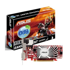 Foto Placa de Video ATI Radeon HD 5450 1 GB DDR3 64 Bits Asus EAH5450