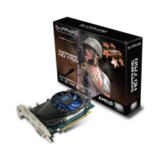 Foto Placa de Video ATI Radeon HD 7750 1 GB GDDR5 128 Bits Sapphire 11202-00-20G