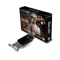 Foto Placa de Video ATI Radeon HD 7750 1 GB GDDR5 128 Bits Sapphire 11202-10-20G