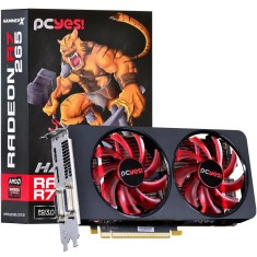 Foto Placa de Video ATI Radeon R7 265 2 GB GDDR5 256 Bits PCYes PH26525602D5OC