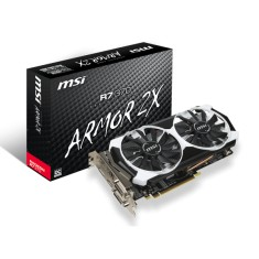 Foto Placa de Video ATI Radeon R7 370 2 GB GDDR5 256 Bits MSI R7 370 2GD5T OC