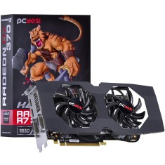 Foto Placa de Video ATI Radeon R7 370 2 GB GDDR5 256 Bits PCYes PH37025602D5OCV2