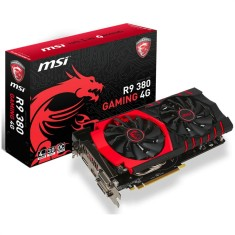 Foto Placa de Video ATI Radeon R9 380 4 GB GDDR5 256 Bits MSI R9 380 GAMING 4G