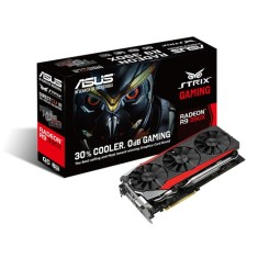 Foto Placa de Video ATI Radeon R9 390X 8 GB GDDR5 512 Bits Asus STRIX-R9390X-DC3OC-8GD5-GAMING