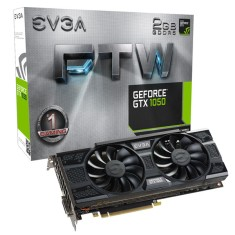 Foto Placa de Video NVIDIA GeForce GTX 1050 2 GB GDDR5 128 Bits EVGA 02G-P4-6157-KR