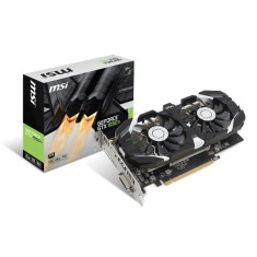 Foto Placa de Video NVIDIA GeForce GTX 1050 Ti 4 GB GDDR5 128 Bits MSI GTX 1050 Ti 4GT OC