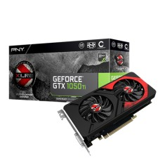 Foto Placa de Video NVIDIA GeForce GTX 1050 Ti 4 GB GDDR5 128 Bits PNY VCGGTX1050T4XGPB-OC