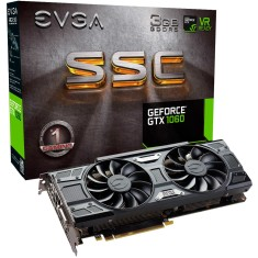 Foto Placa de Video NVIDIA GeForce GTX 1060 3 GB GDDR5 192 Bits EVGA 03G-P4-6167-KR