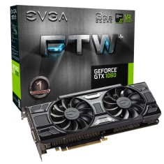 Foto Placa de Video NVIDIA GeForce GTX 1060 3 GB GDDR5 192 Bits EVGA 03G-P4-6367-KR