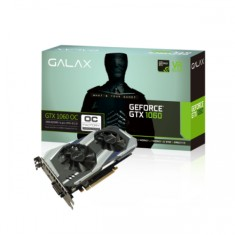 Foto Placa de Video NVIDIA GeForce GTX 1060 3 GB GDDR5 192 Bits Galax 60NNH7DSL9C3