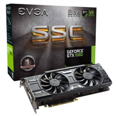 Foto Placa de Video NVIDIA GeForce GTX 1060 6 GB GDDR5 192 Bits EVGA 06G-P4-6264-KR