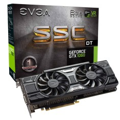 Foto Placa de Video NVIDIA GeForce GTX 1060 6 GB GDDR5 192 Bits EVGA 06G-P4-6265-KR