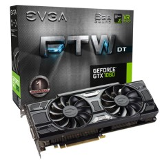 Foto Placa de Video NVIDIA GeForce GTX 1060 6 GB GDDR5 192 Bits EVGA 06G-P4-6266-KR