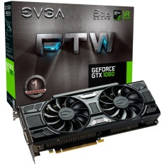 Foto Placa de Video NVIDIA GeForce GTX 1060 6 GB GDDR5 192 Bits EVGA 06G-P4-6268-KR