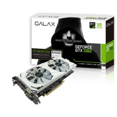 Foto Placa de Video NVIDIA GeForce GTX 1060 6 GB GDDR5 192 Bits Galax 60NRH7DVM3VW