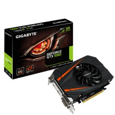 Foto Placa de Video NVIDIA GeForce GTX 1060 6 GB GDDR5 192 Bits Gigabyte GV-N1060IXOC-6GD
