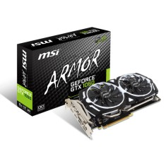Foto Placa de Video NVIDIA GeForce GTX 1060 6 GB GDDR5 192 Bits MSI GTX 1060 ARMOR 6G OCV1