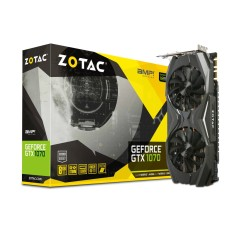 Foto Placa de Video NVIDIA GeForce GTX 1070 8 GB GDDR5 256 Bits Zotac ZT-P10700C-10P